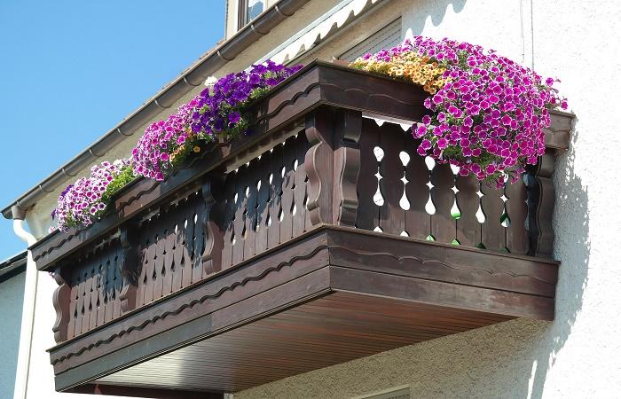 terrazzo in primavera