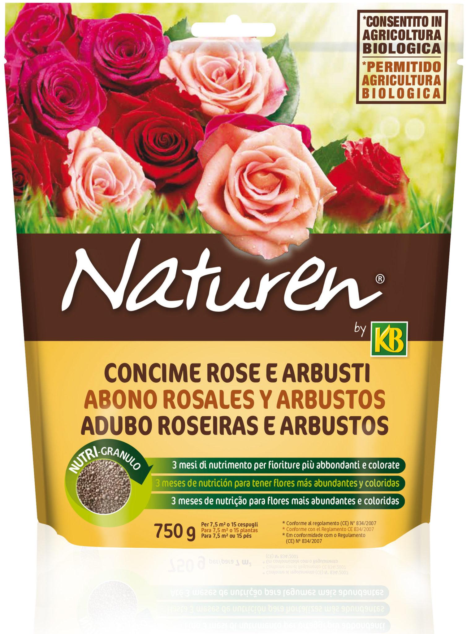 immagini Concime naturen rose ed arbusti